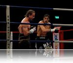 two boxers in the boxing ring